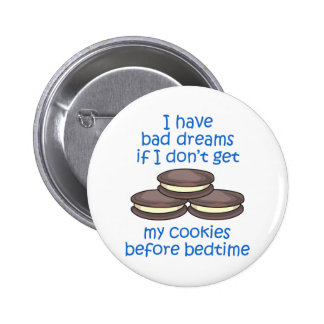 Cookies Before Bedtime Buttons