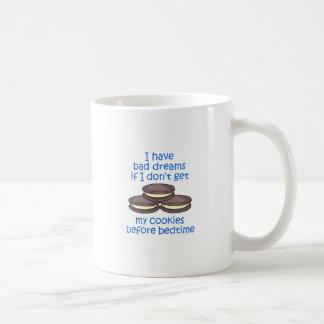 Cookies Before Bedtime Coffee Mug