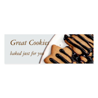 cookies business card templates