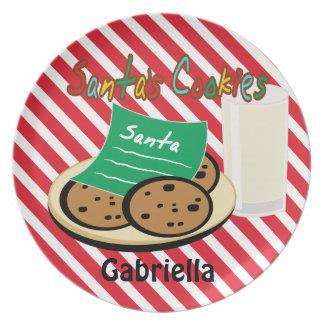Cookies For Santa Christmas Dish