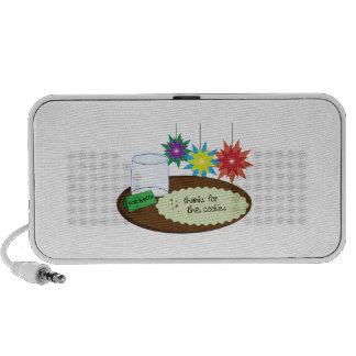 Cookies For Santa iPhone Speakers