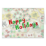 Cookies! Happy Holidays Cards