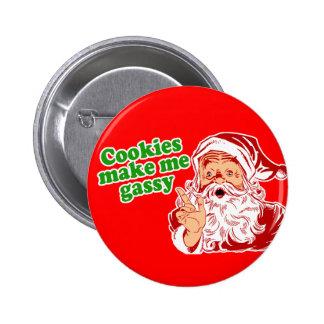 Cookies Make Me Gassy 6 Cm Round Badge