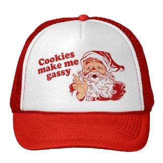 Cookies Make Santa Gassy Cap