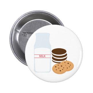 Cookies Milk 6 Cm Round Badge