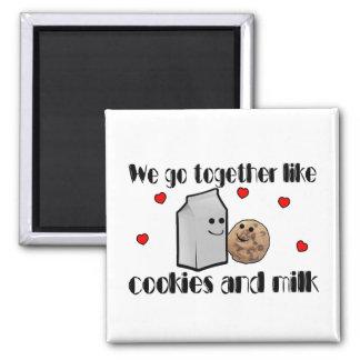 Cookies & Milk Love Magnet
