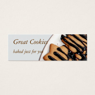 cookies mini business card