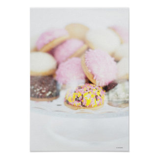 Cookies on table poster