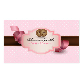Cookies & Sweets Pack Of Standard Business Cards