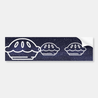 Cooking Cakes Pictograph Bumper Sticker