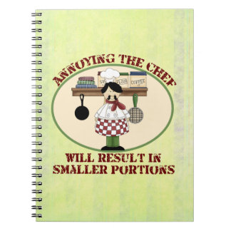 Cooking Chef Spiral Notebook