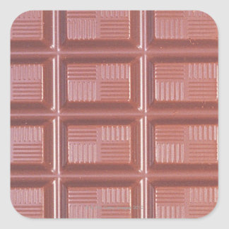 Cooking Chocolate Square Sticker