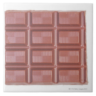 Cooking Chocolate Large Square Tile