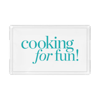 Cooking For Fun Acrylic Tray