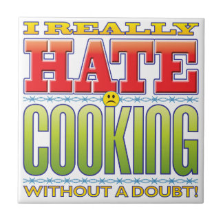 Cooking Hate Face Ceramic Tiles