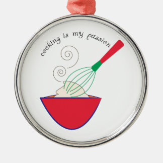 Cooking In My Passion Christmas Ornament