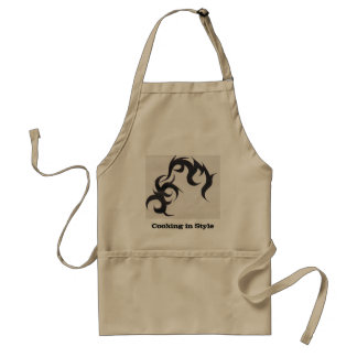 Cooking in Style-Tribal Tattoo Standard Apron