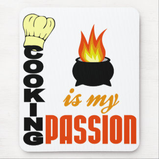 Cooking Is My Passion mousepad