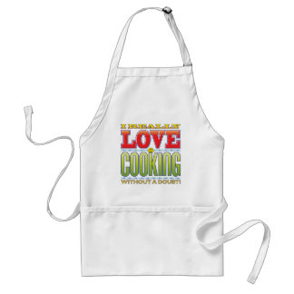 Cooking Love Face Aprons