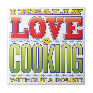 Cooking Love Face Tile
