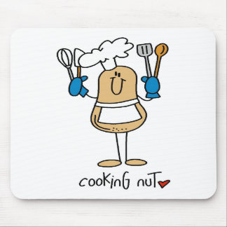 Cooking Nut Cooking Gift Mouse Pad