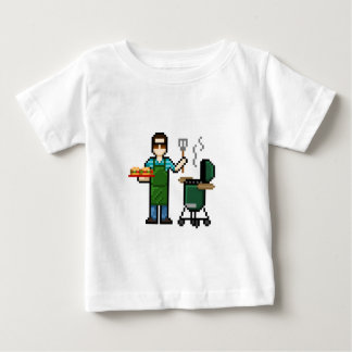 Cooking on the BGE grill Baby T-Shirt