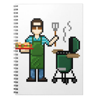 Cooking on the BGE grill Note Book