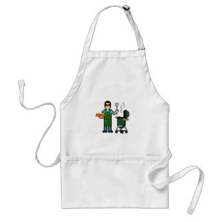 Cooking on the BGE grill Standard Apron