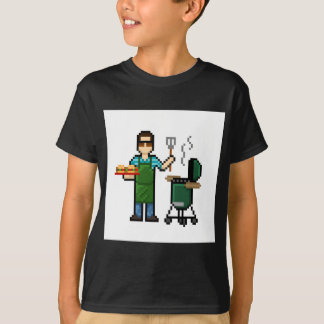 Cooking on the BGE grill T-Shirt