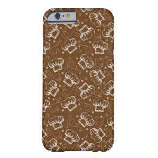 Cooking pattern with chef hat barely there iPhone 6 case