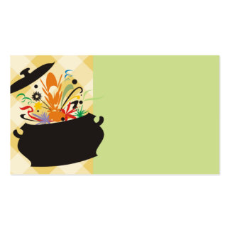 cooking pot flavor burst chef catering business ca business card templates