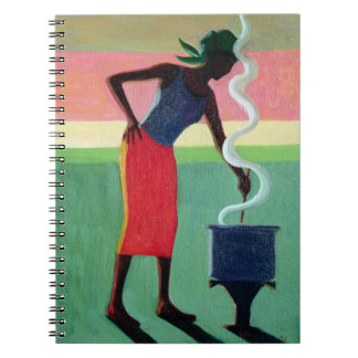 Cooking Rice 2001 Spiral Notebook