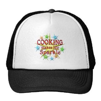 Cooking Sparkles Trucker Hats
