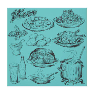 Cooking Stretched Canvas Prints