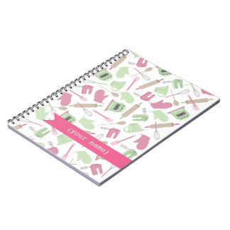 Cooking Themed Personalized Spiral Notebook