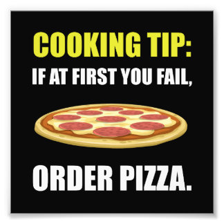 Cooking Tip Pizza Photo Art