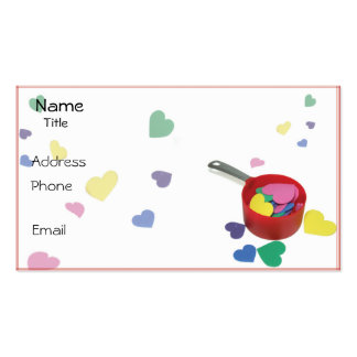 Cooking Up Fun Business Card Template