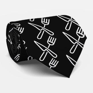 Cooking Utensils Symbol Tie