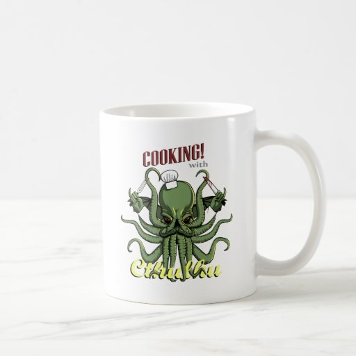 Cooking with Cthulhu Mugs