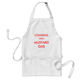 COOKING, WITH, MUSTARD, GAS STANDARD APRON