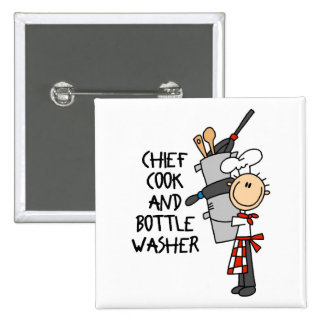 Cook's Gift 15 Cm Square Badge