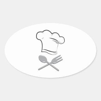 Cooks Hat Sticker
