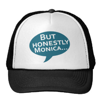 """Cooks Source - """"But Honestly Monica"""" Blue Trucker Hat"""