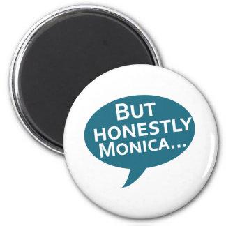 Cooks Source - But Honestly Monica Blue Fridge Magnets