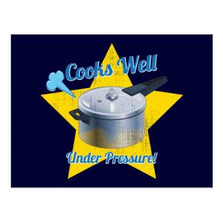 Cooks Under Pressure Postcard