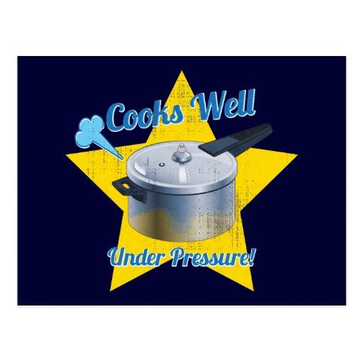 Cooks Under Pressure Postcards