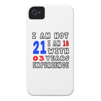 Cool 21 Birthday Designs iPhone 4 Cover