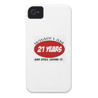 cool 21 years old birthday designs iPhone 4 covers