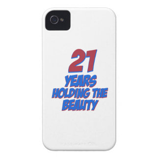 cool 21 years old birthday designs iPhone 4 case