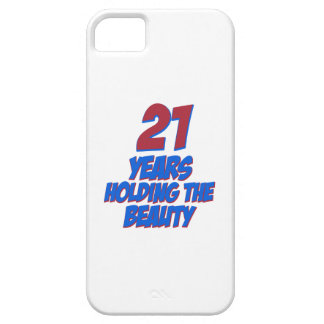 cool 21 years old birthday designs iPhone 5 cases
